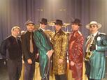 the Zoot Suit Reveue- Nationally Acclaimed Swing, Big Band, Latin, Jump Vegas Style Show Band.