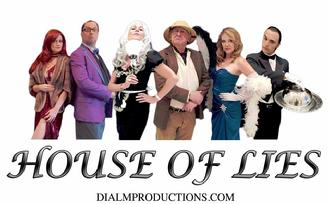 CLUE THEMED MURDER MYSTERY - HOUSE OF LIES!