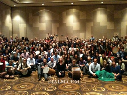 drum circle #DIALM Los Angeles Event Planner Team building activity